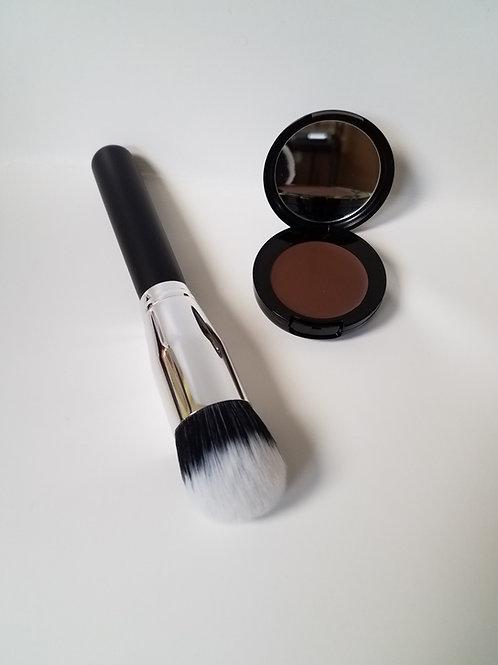 foundation and Foundation blending brush