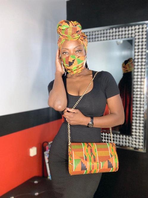 Set bag,mask,head wrap
