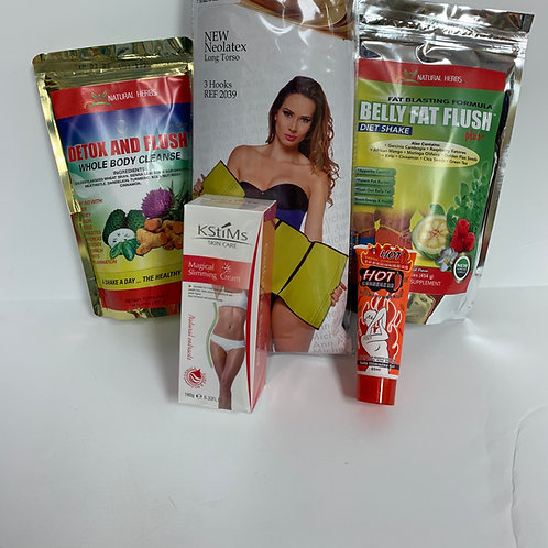 Super lose belly fat package