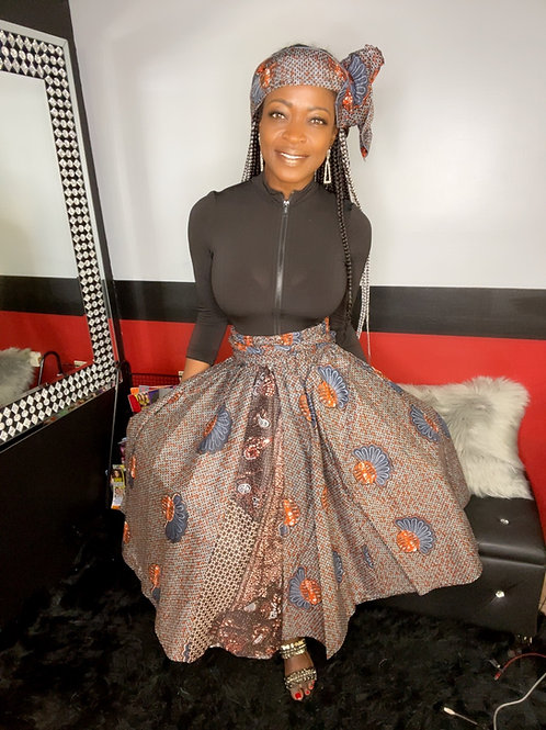 Short African skirt