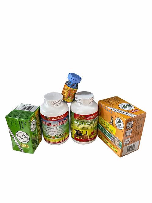 Diet capsules package
