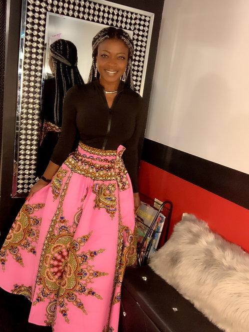 Long African skirt
