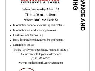 Insurance and Bonding..Interested? Join our class!