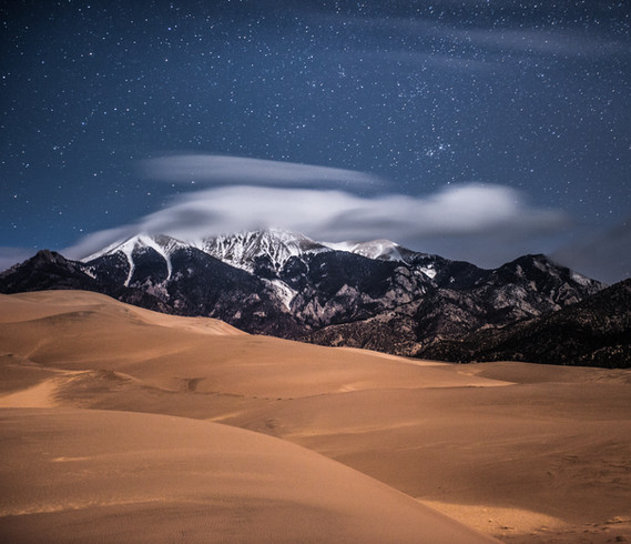 GREAT SAND DUNES by STARLIGHT