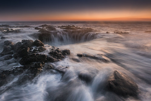 THOR'S WELL (late sunset)