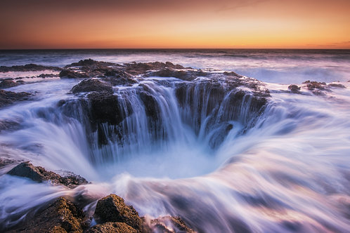 THOR'S WELL (sunset)