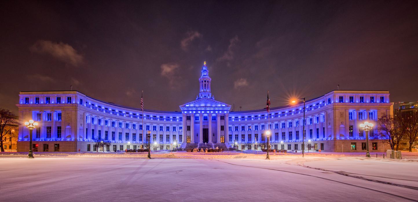DENVER CITY BLUE