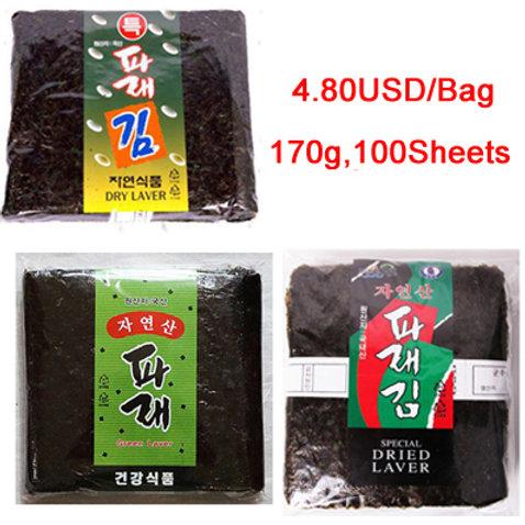 Parae Seaweed, Gimbab Nori (100sheets) 170g