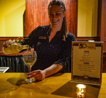 Offering Beer, Wine, and Liquor Bars for Your Events in Safari Room and Grand Room