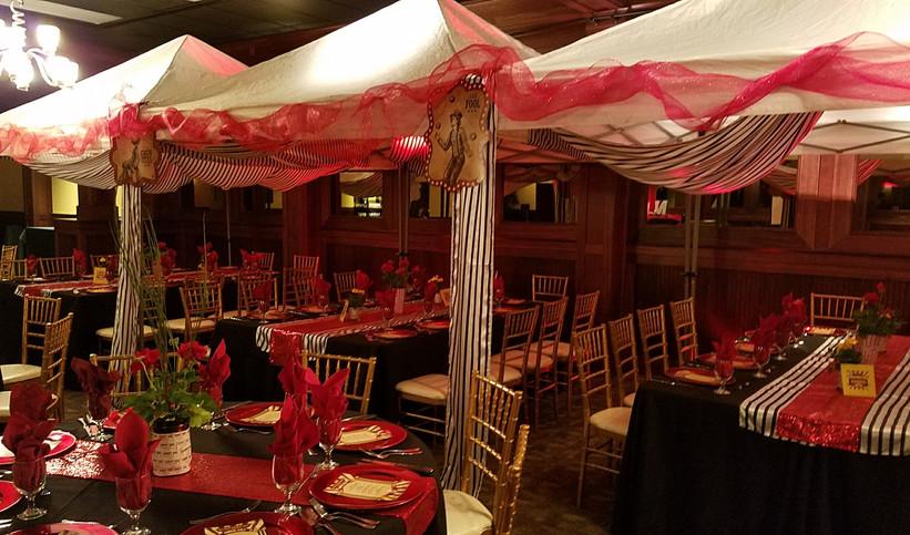 Circus-theme Tent Set-up - Grand Room