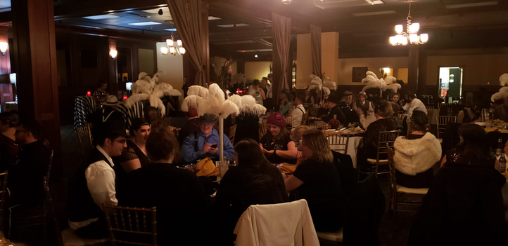 """Dinner at """"Murder at the Juice Joint"""" 20s Murder Mystery"""