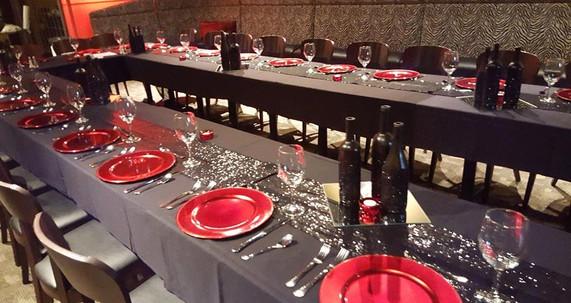 Wine Dinner in Safari Room