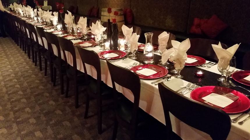 Wine Dinner - Safari Room
