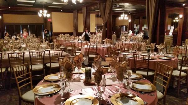 Grand Room Wedding in Springtime