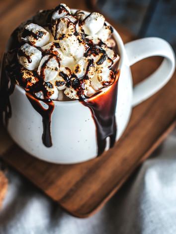 Heiße Schokolade mit Eibisch