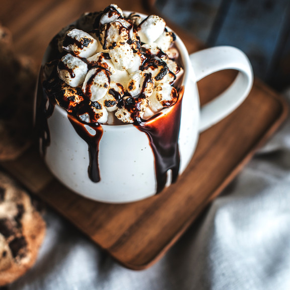Chocolate with Marshmallows Drink