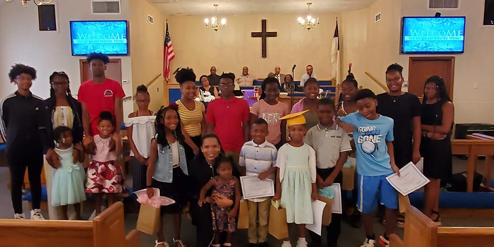 Children School Year Recognition Sunday