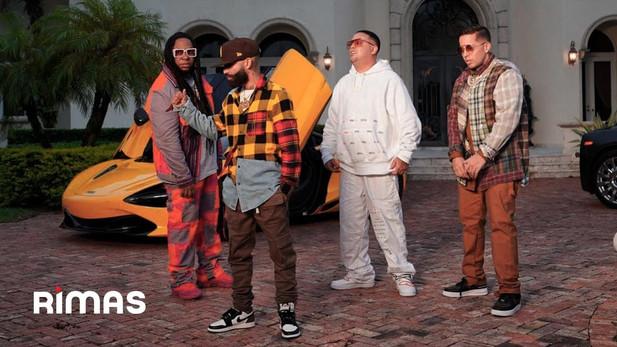 Arcangel x De La Ghetto x Yaga & Mackie - Aparentemente 2