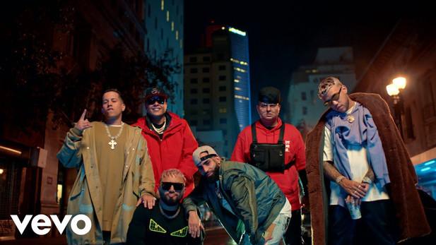 LA CALLE - Alex Sensation, Myke Towers, Darell, De La Ghetto, Arcangel, Jhay Cortez