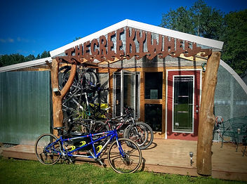The Creeky Wheel bicycle shop