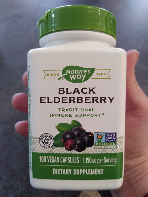 Elderberry - vegan capsules