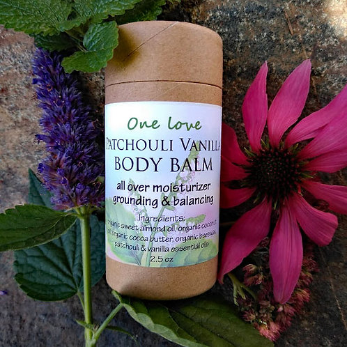 Patchouli Vanilla Body Balm