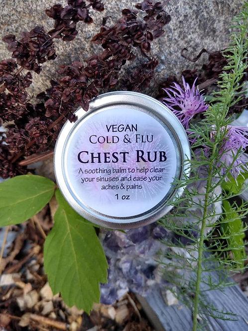 Cold & Flu Chest Rub-vegan