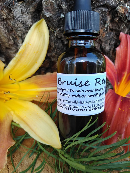 Bruise Relief - Vegan Plantain Oil