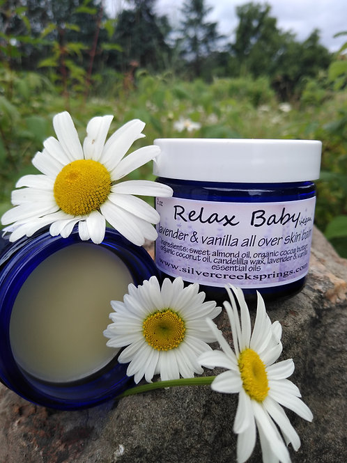 Lavender Vanilla Moisturizer-vegan-Relax, Baby