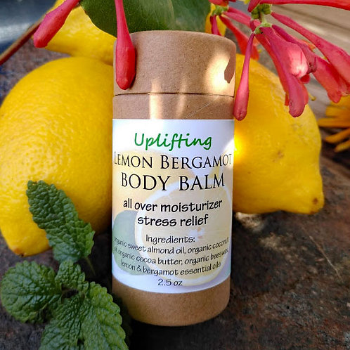 Lemon Bergamot Body Balm - Uplifting