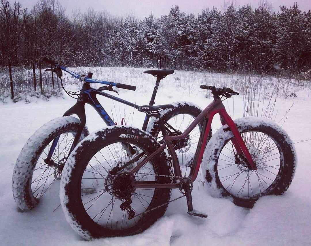 Fat bikes!