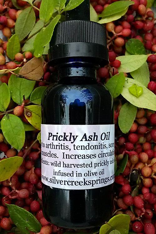 Prickly Ash Oil - Vegan