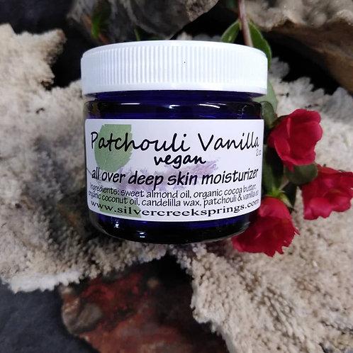 Patchouli Vanilla Moisturizer-vegan