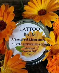 All natural tattoo aftercare