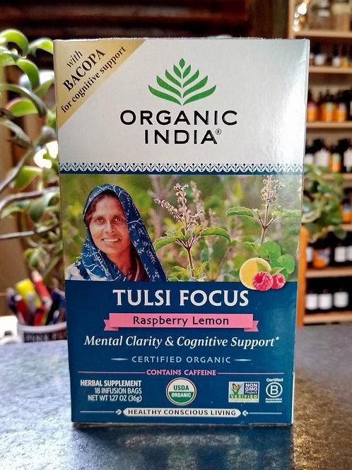 Tulsi Focus Tea - Raspberry Lemon