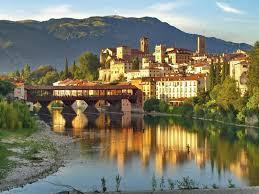 Bassano del §§Grappa e il Ponte degli Alpini
