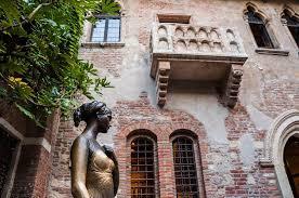 Il balcone di Romeo e Giulietta a Verona