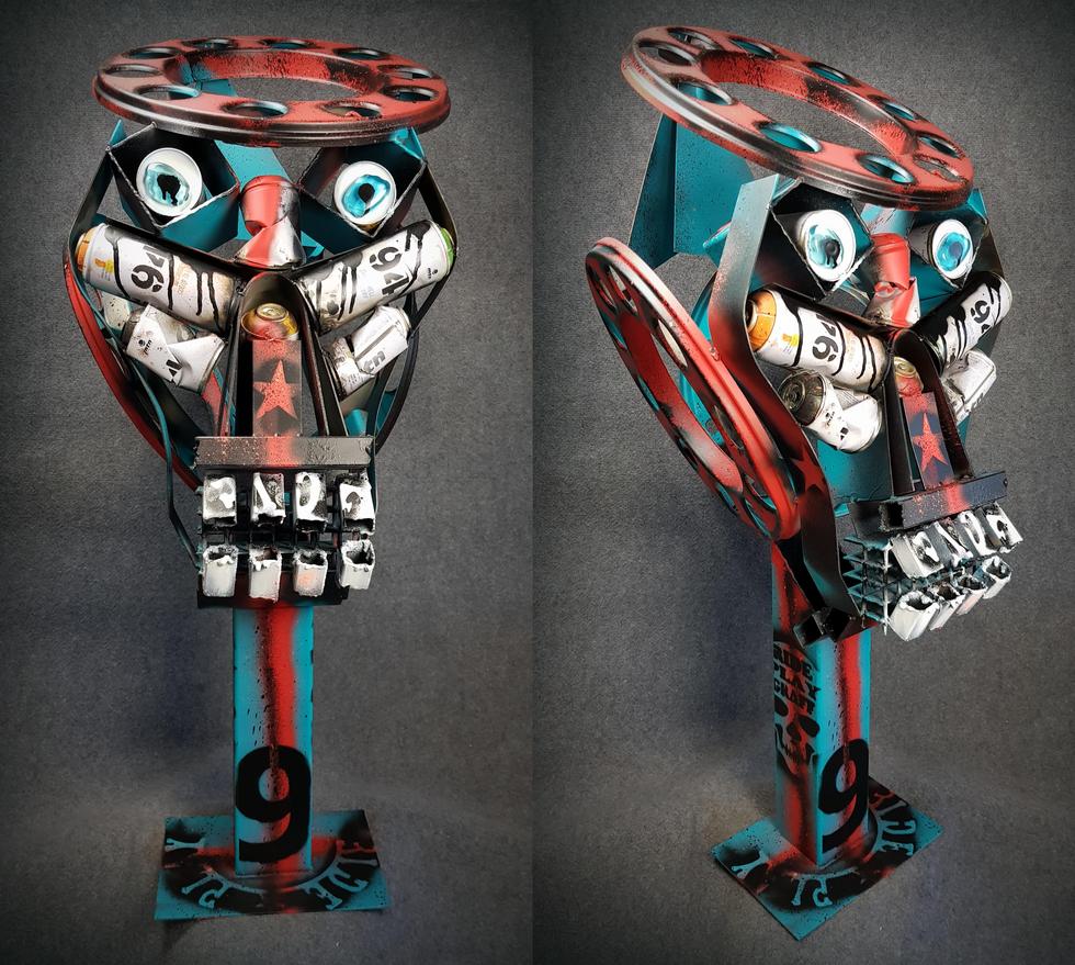 Sculpture Skull OSS DALI PC