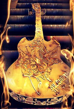 Dos guitare ACDC