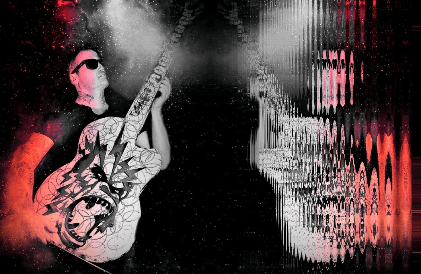 Guitar shaka ponk