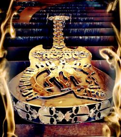 Sculpture Guitar ACDC
