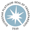 Platinum Guidestar Badge