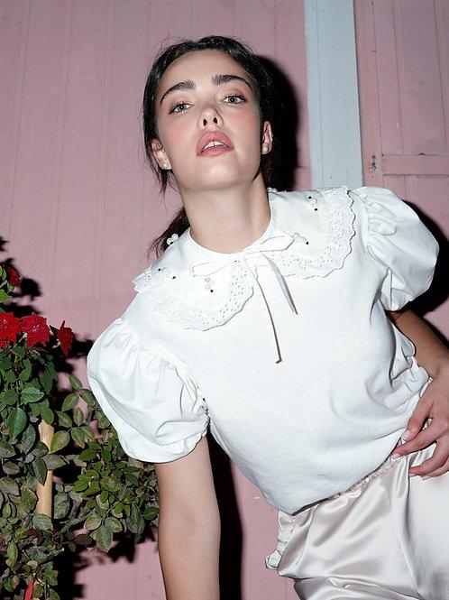 Claudine white shirt