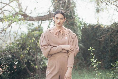 Juliette suit royal rose
