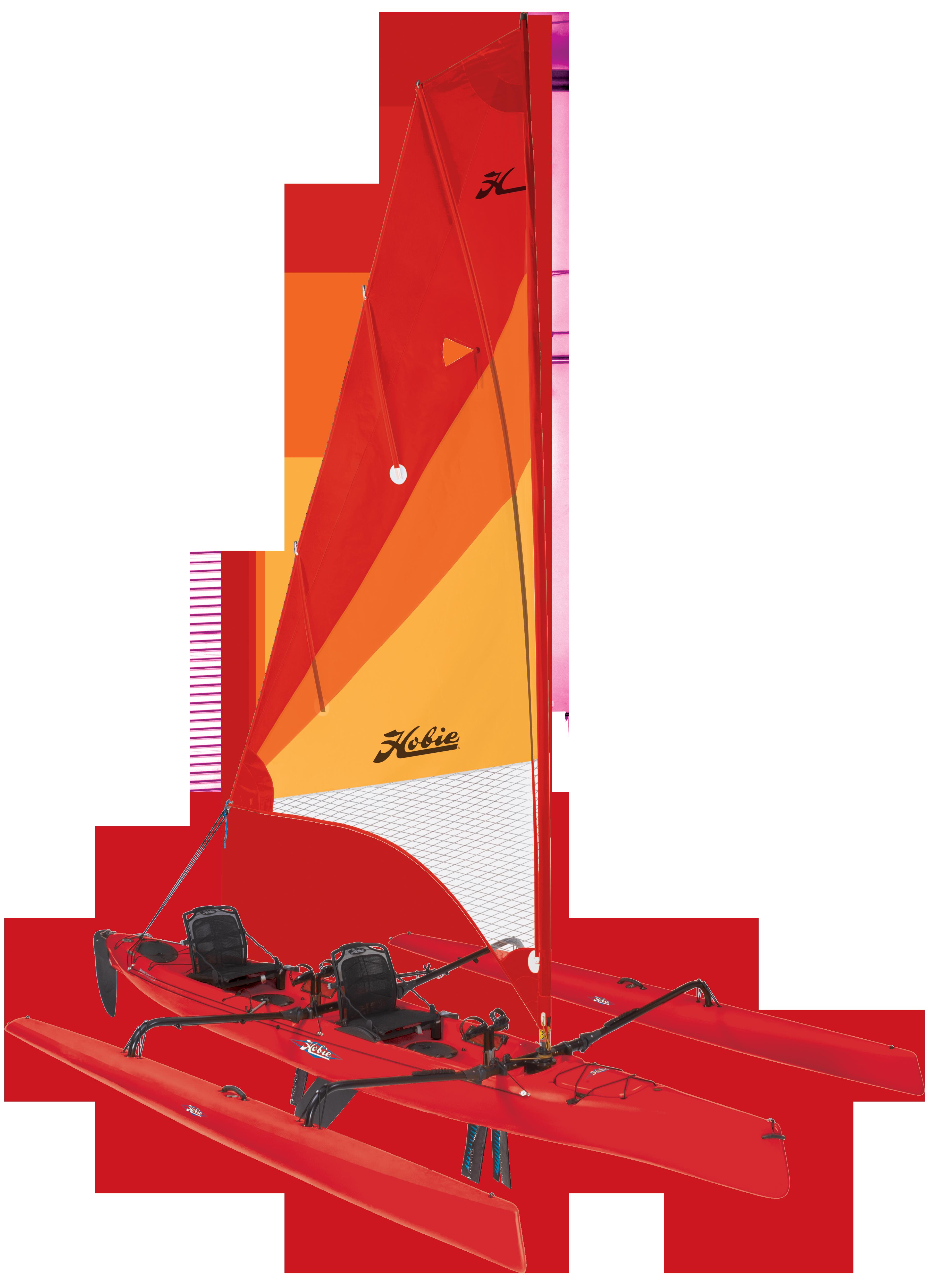 Hobie Tandem Island Kayak - Sailer!