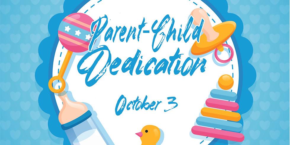 Child Dedication Oct 3