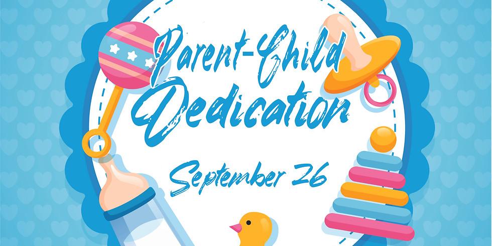 Child Dedication Sept 26