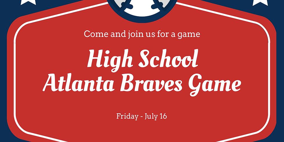High School Atlanta Braves Game