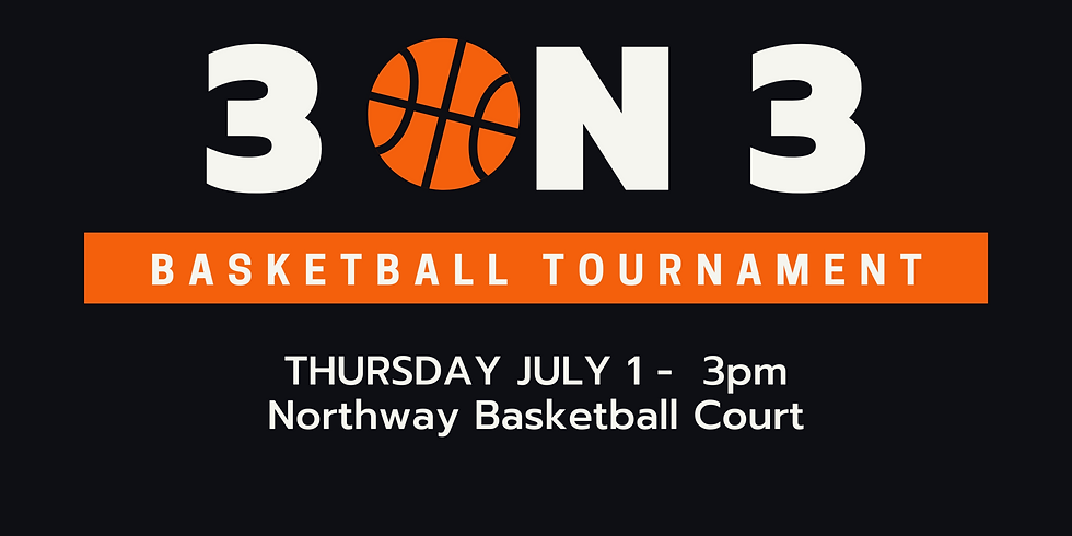 Northway Students 3 on 3 basketball