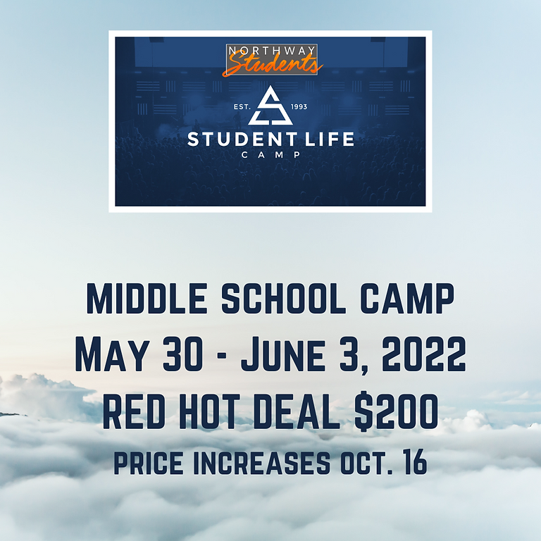 Middle School Camp